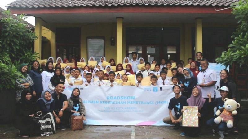 47 Pelajar Ikuti RoadshowSosialisasi Manajemen Kebersihan Menstruasi