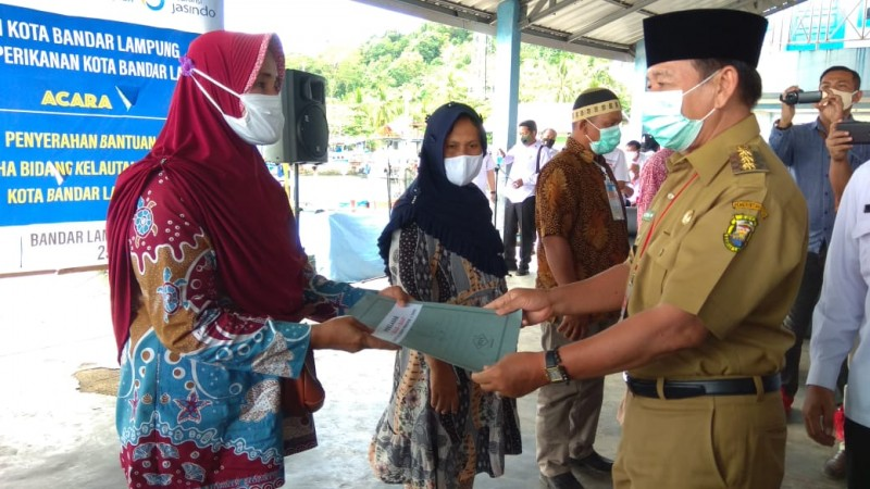 493 Nelayan di Bandar Lampung Dapat Perlindungan AsuransiJiwa