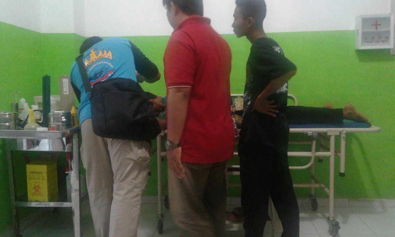 Polisi Selidiki Motif Penganiayaan Lurah Mulyaasri