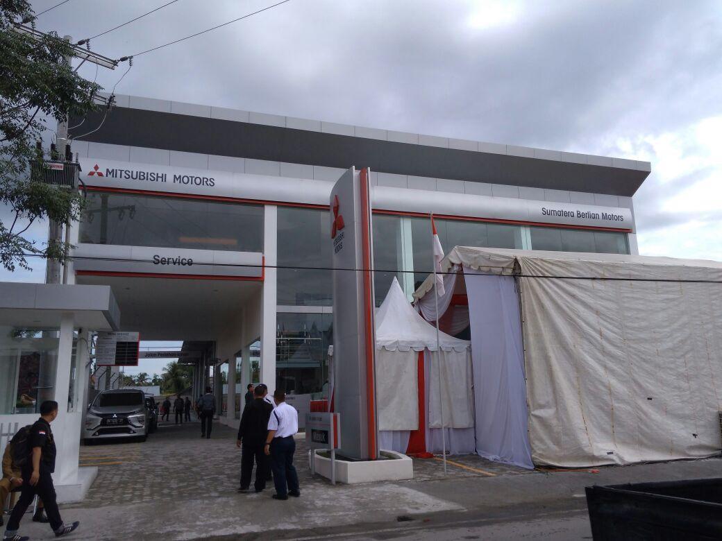 Mitsubishi Resmikan Diler Kelima di Sumatera Utara