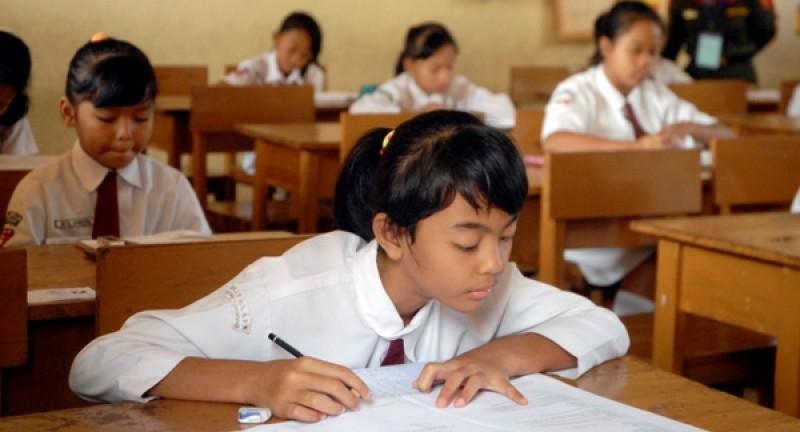 5.023 Siswa SD Lambar Ikuti Ujian Senin Besok