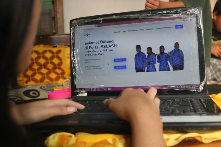 5.039 Orang Sudah Daftar Seleksi CASN Pemprov Lampung