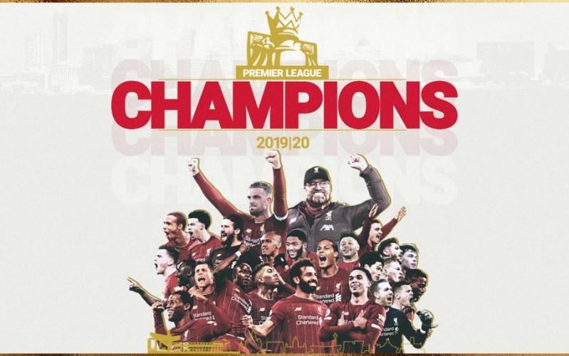 5 Ulasan Spektakuler Warnai Liverpool Menjuarai Liga Primer Inggris
