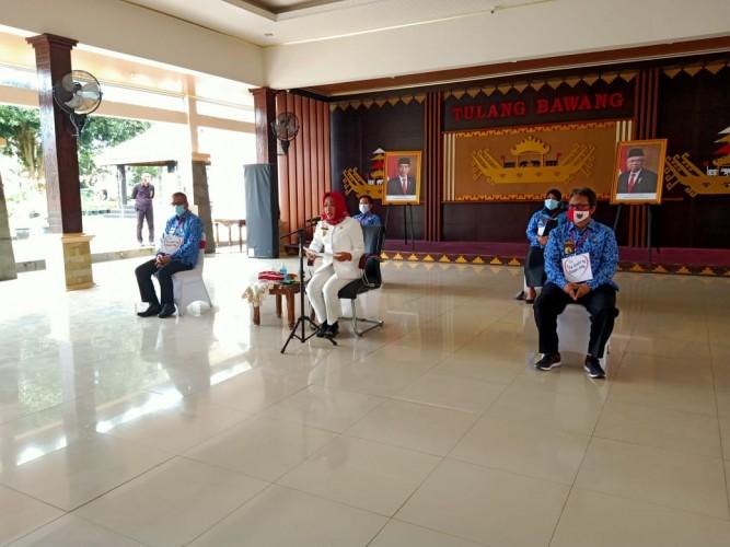 51 Kelompok Usaha di Rawajitu Timur dan Rawajitu Selatan Dapat Bantuan Program BMW