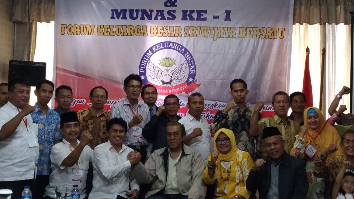 Forum Keluarga Besar Sriwijaya Bersatu Dideklarasikan