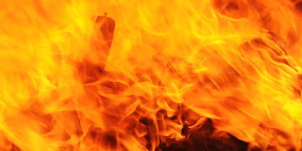 Gudang Pelet di Gadingrejo Terbakar