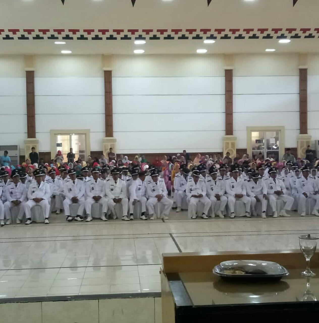 112 Kades Terpilih di Lampung Timur Dilantik