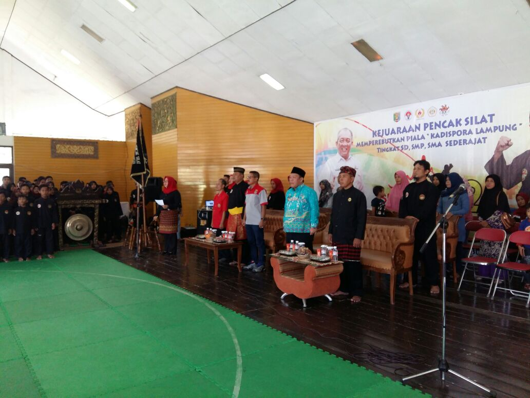 Kejurda SMI Pencak Silat Lampung Resmi Dibuka