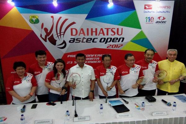 Daihatsu Astec Open 2017 Jaring 4.992 Peserta