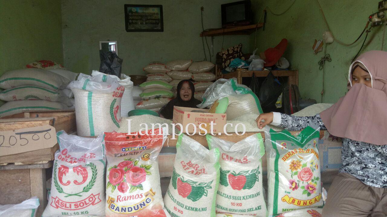 Harga Beras di Lamsel dan Bandar Lampung Berangsur Turun
