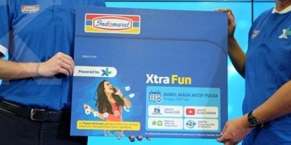 XL Axiata-Indomaret Hadirkan Kartu Xtra Fun
