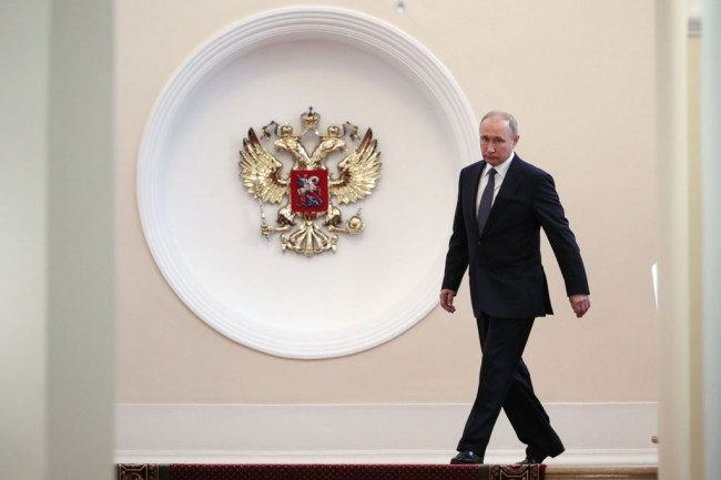 Keempat Kalinya, Putin Dilantik jadi Presiden Rusia