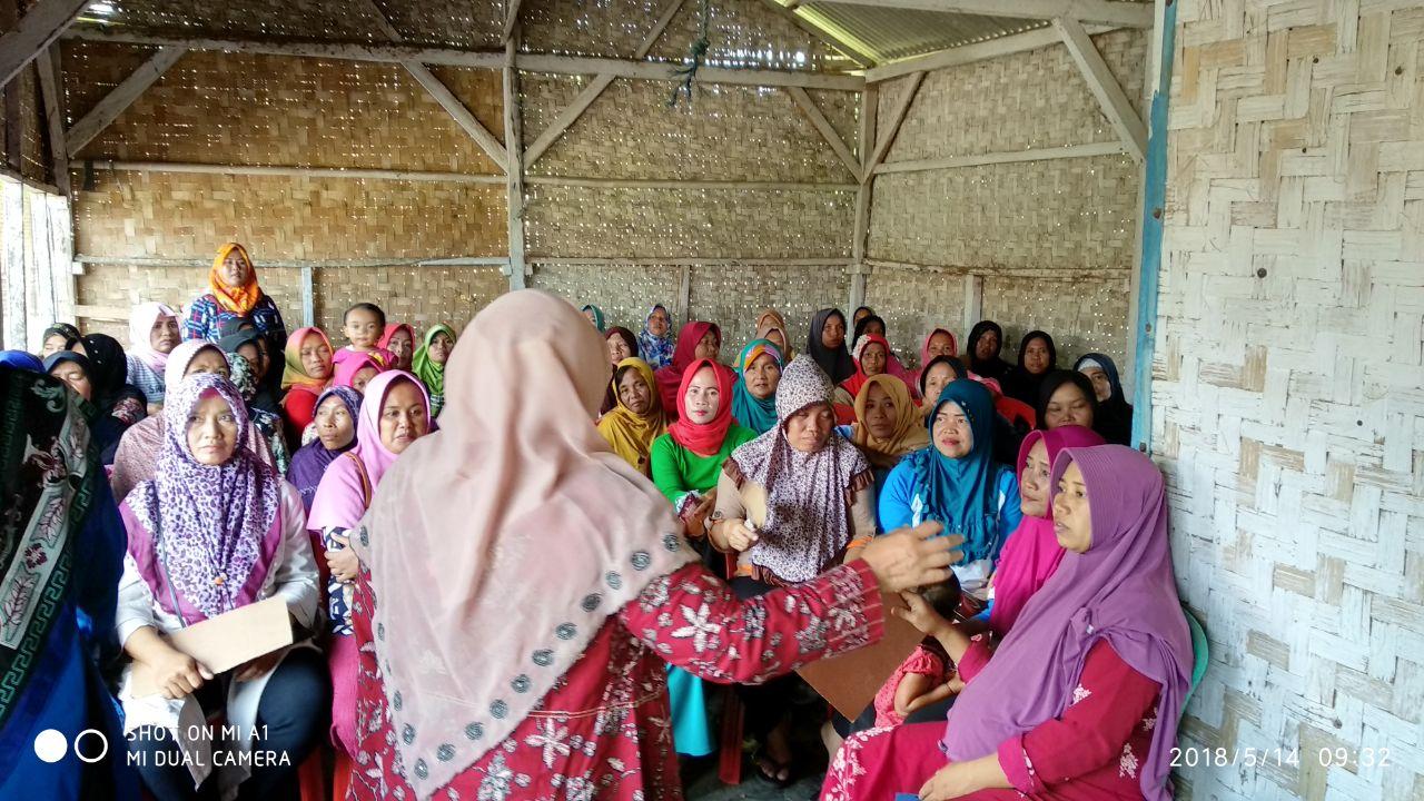 Pendamping Sosial Kecamatan Natar Gelar P2K2