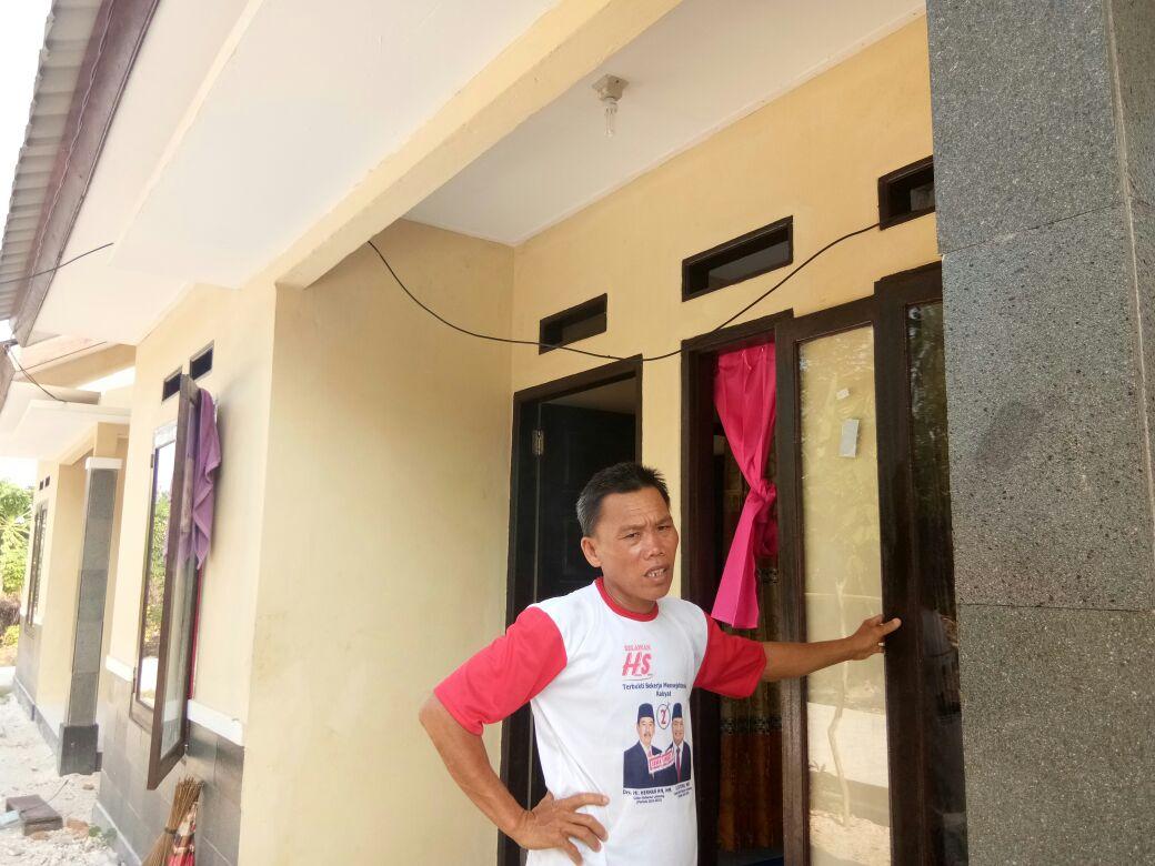 Warga Mulai Tempati Perumahan Nelayan di Lemong