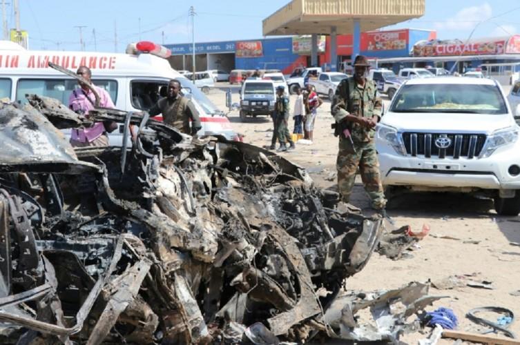 6 Orang Tewas Akibat Ledakan Bom di Restoran Somalia