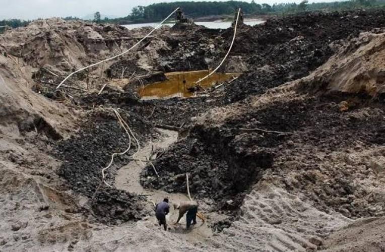 6 Pekerja Tambang di Bangka Tengah Tewas Terkubur Pasir Timah