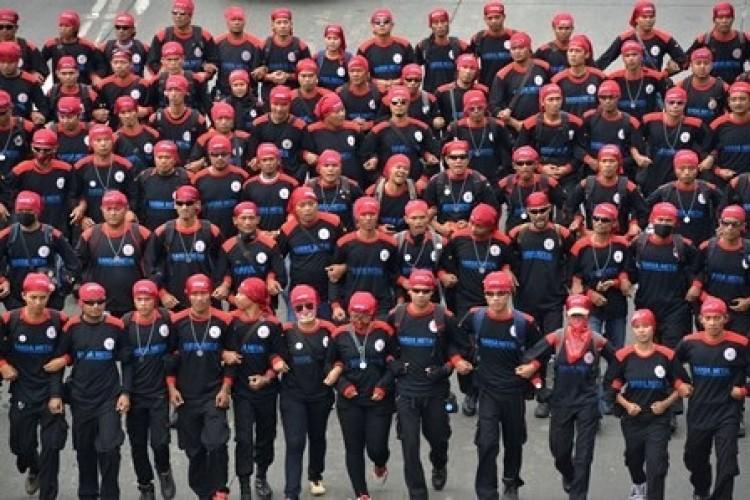 6 Ribu Polisi Jaga Demo Buruh di DPR