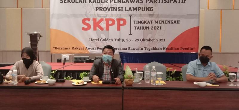 60 Generasi Muda Ikuti SKPP Menengah Bawaslu Lampung