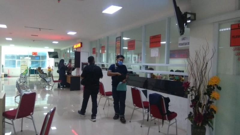 60 Staf Dinas PMPTSP Bandar Lampung Jalani Tes Rapid