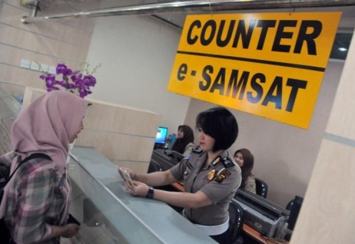 60 Unit Kendaraan di Lampung Bayar Pajak lewat Bumdes