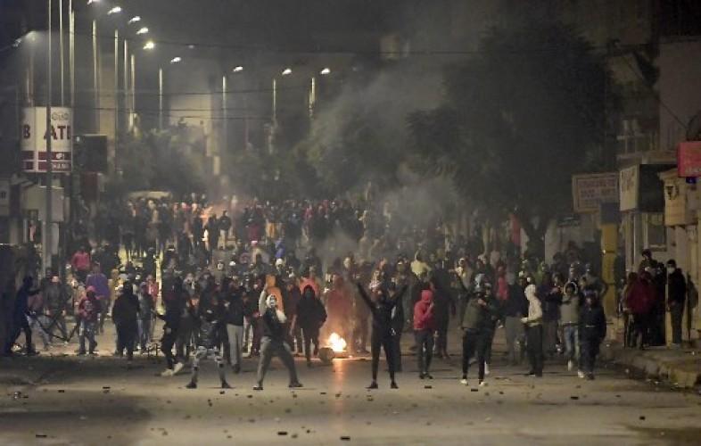 600 Orang Ditangkap dalam Demo Krisis Ekonomi di Tunisia
