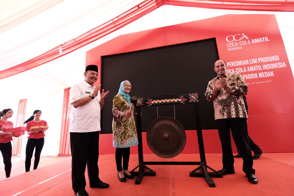 Coca Cola Buka Lini Produksi Baru di Medan
