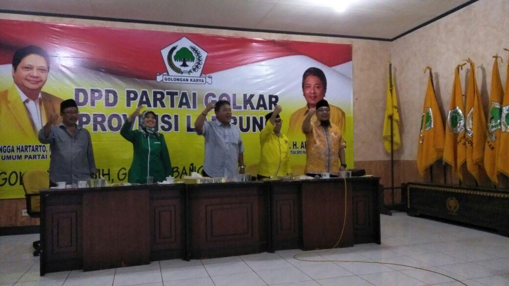 Pendaftaran Arinal-Nunik ke KPU Bakal Dikawal Ribuan Kader