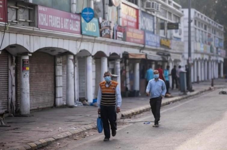 66 Ribu Lebih Warga India Terinfeksi Covid-19 dalam Sehari