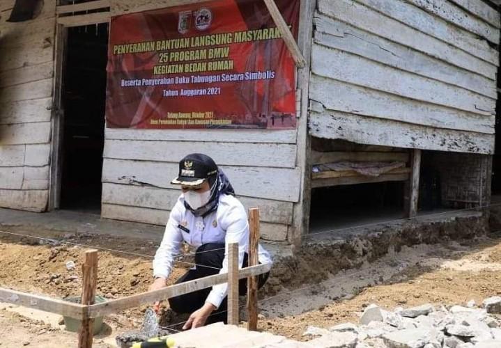66 Rumah Warga di Tulangbawang akan Dibedah