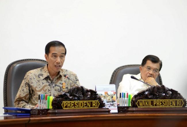 Jokowi Kumpulkan Seluruh Menteri Bahas Percepatan Pemerataan Pembangunan