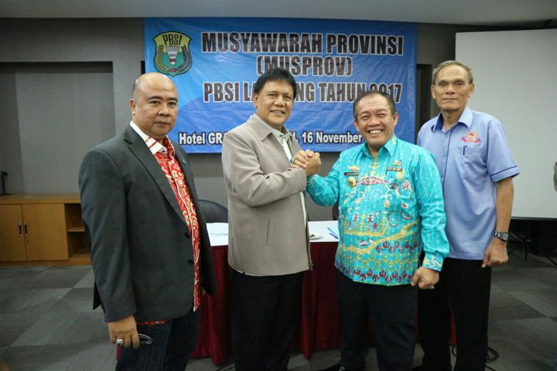 PBSI Lampung Gelar Musprov 2017