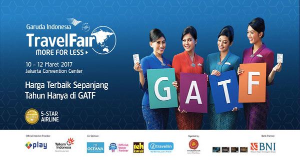 Garuda Indonesia Gandeng Mandiri Gelar GATF Phase II