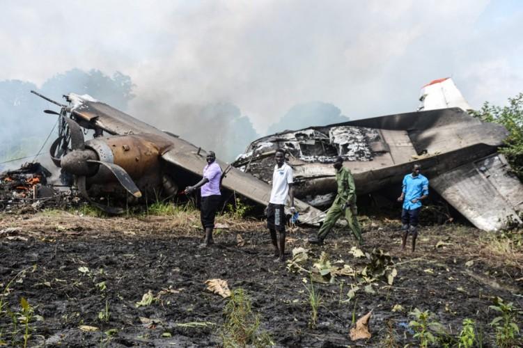 7 Orang Tewas dalam Kecelakaan Pesawat Kargo di Sudan Selatan