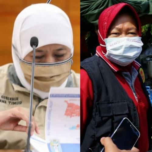 7 Ronde Rivalitas Khofifah-Risma di Masa Pandemi
