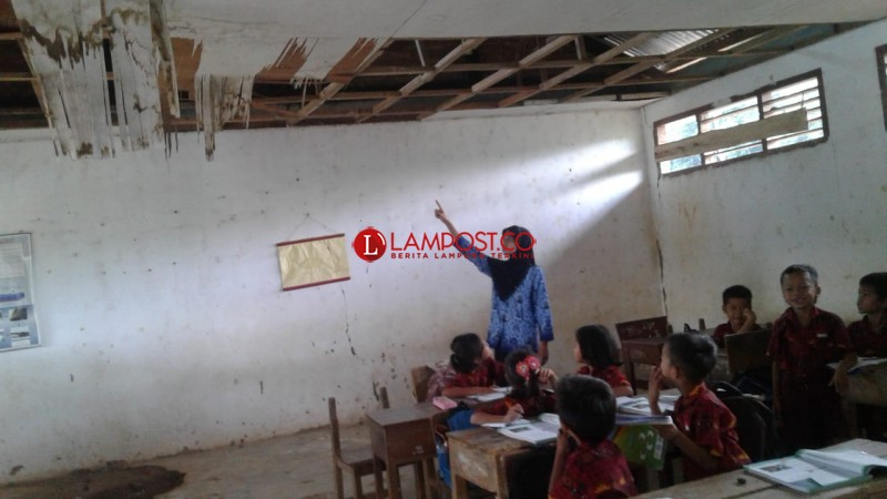 Tujuh SD di Lampura Mendapat Bantuan Rehabilitasi dari PUPR