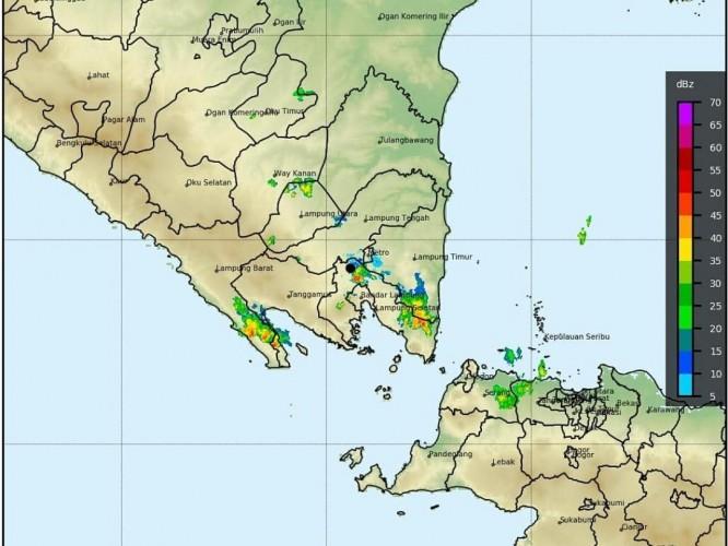 7 Wilayah di Lampung Berpotensi Hujan Lebat Disertai Petir
