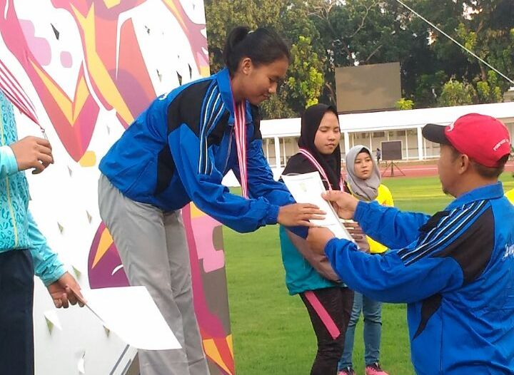 Atletik Lampung Sumbangkan 4 Medali di Kejurnas PASI