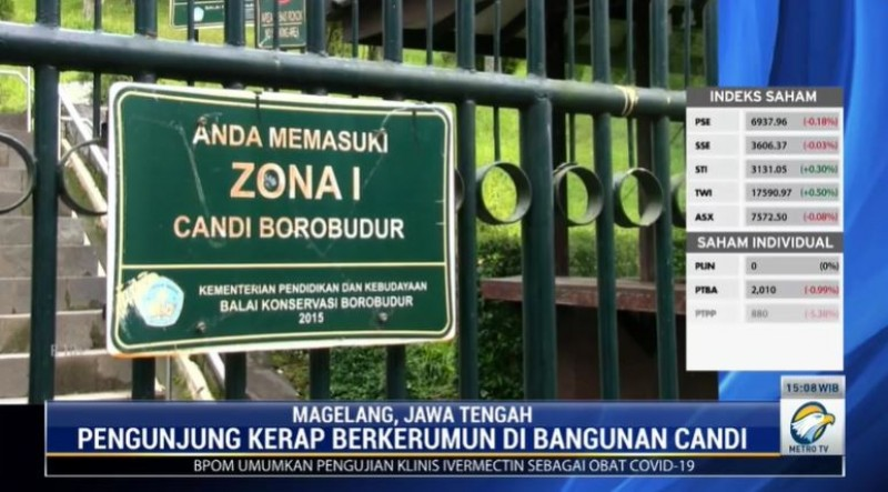 75% Karyawan Terancam Kena PHK Efek Candi Borobudur Tutup
