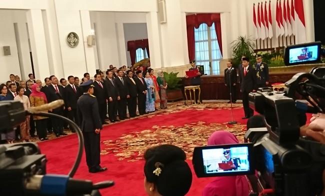 Marsekal Hadi Tjahjanto Resmi Jadi Pangilma TNI