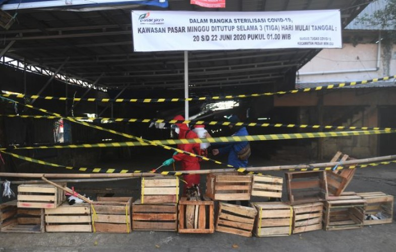 79 Pedagang Pasar di Jakarta Terpapar Covid-19