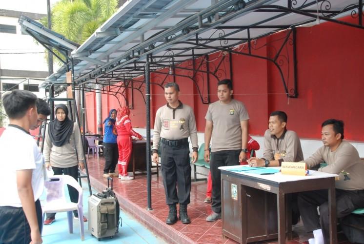 79 Pelajar Ikut Seleksi Saka Bhayangkara Polresta