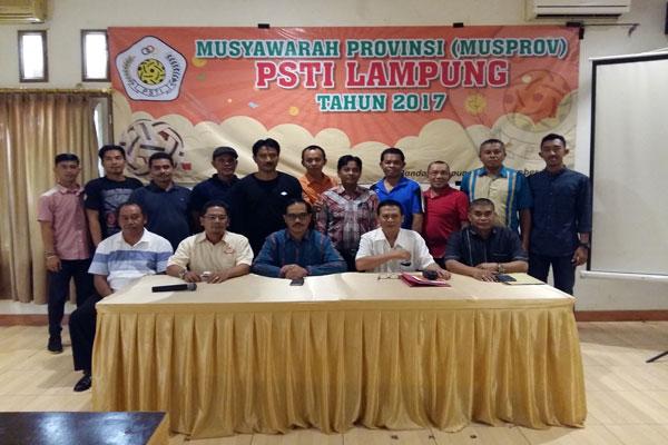 Umar Tahir Pimpin PSTI Lampung