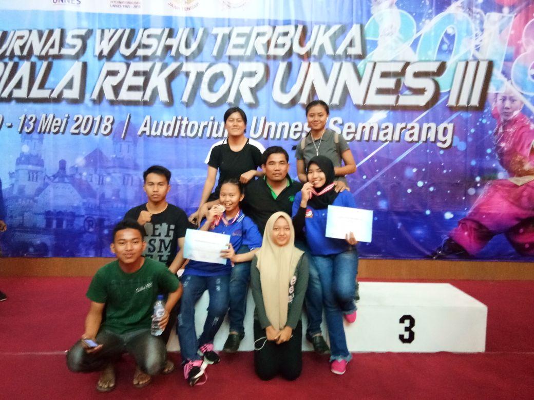 Pewushu Lampung Raih Dua Medali di Kejurnas Semarang