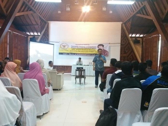 Almuzammil Motivasi Pemuda Lampung