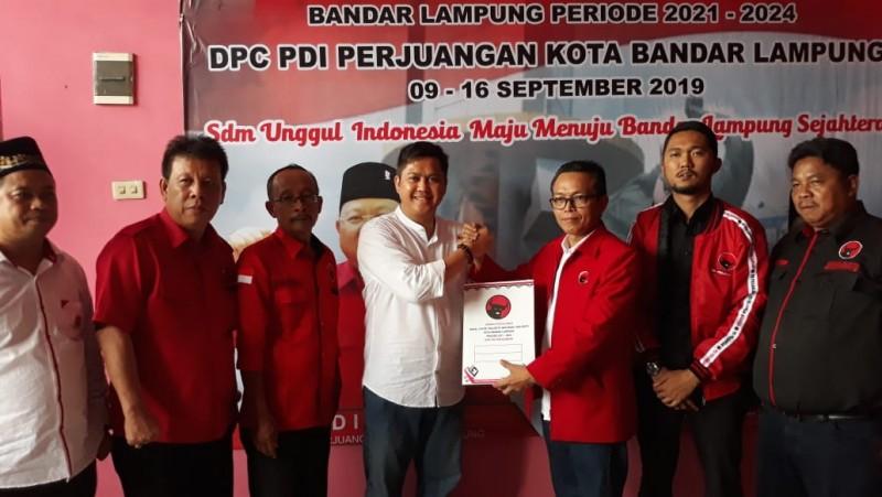8 Tokoh Daftar Penjaringan PDIP Bandar Lampung