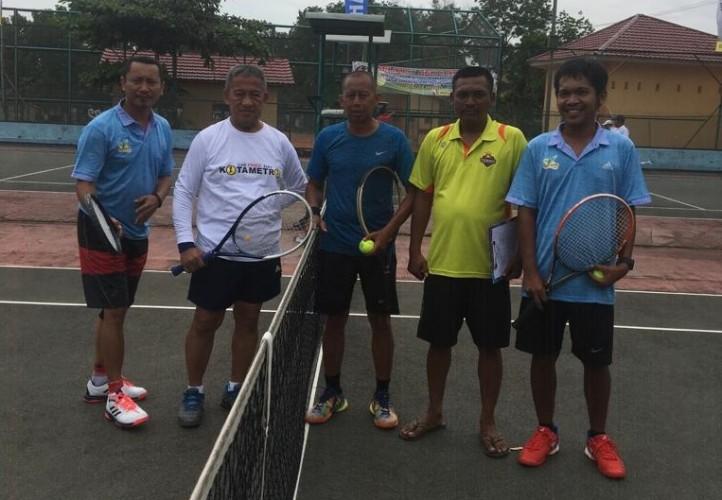 80 Atlet Ramaikan Turnamen Tenis Metro Cup 2019
