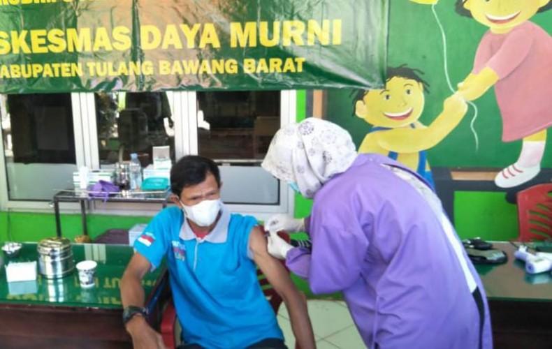 800 Guru Jadi Target Vaksinasi Tahap Kedua di Tubaba