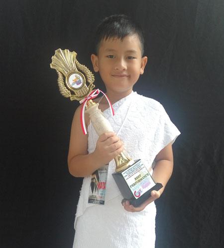 Muhammad Kaza Juara Hafalan Surah Pendek