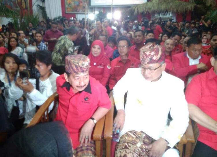 Sah, PDIP Usung Herman HN - Sutono di Pilgub Lampung