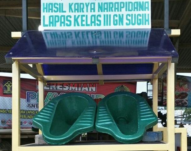 Hasil Karya Warga Binaan LP Gunung Sugih Siap Mejeng di Pameran PUN Jakarta